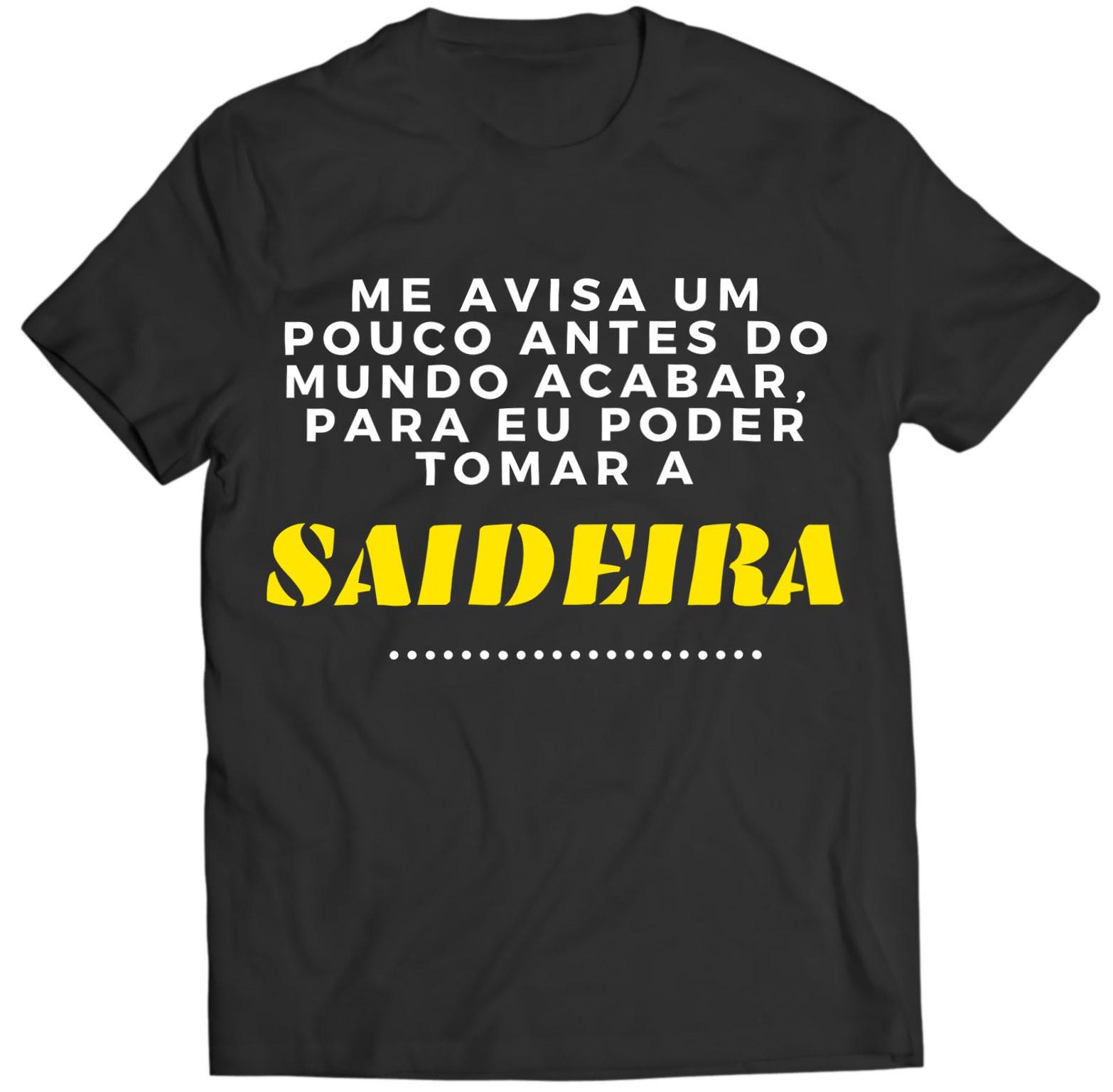 Camiseta - Saideira - Masculino