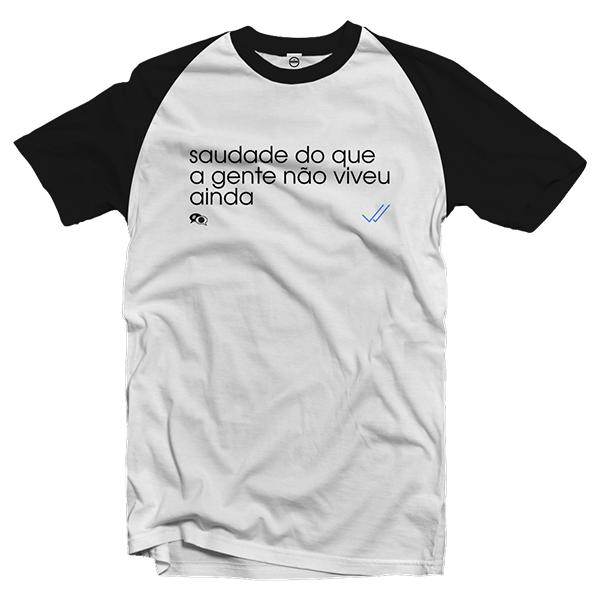Camiseta - SAUDADE NEY. Masculino