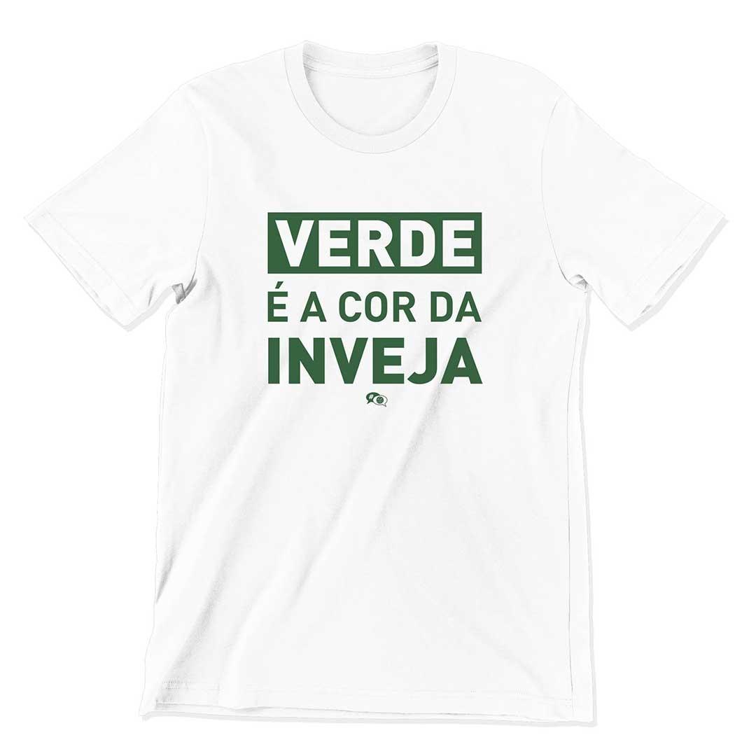 Camiseta - VERDE É A COR DA INVEJA