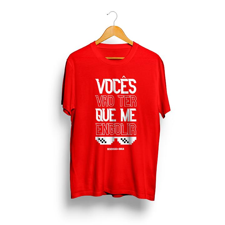 Camiseta - VOCÊS VÃO TER QUE ME ENGOLIR - Masculino