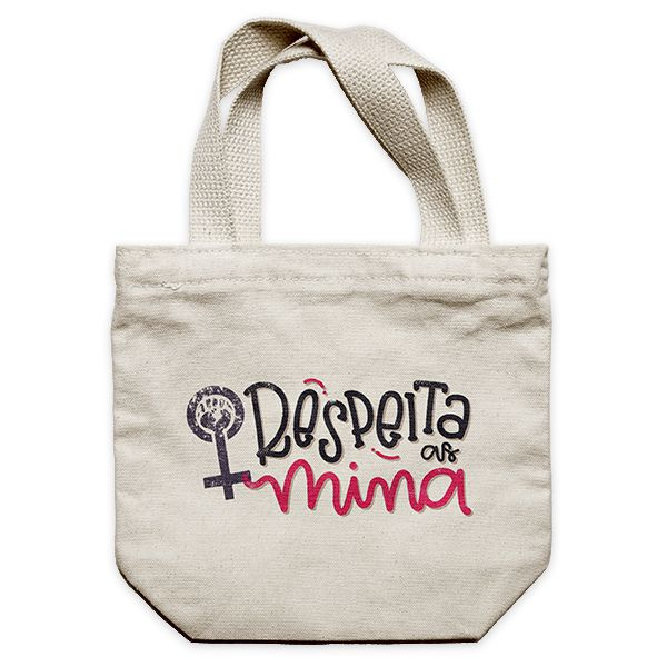 Ecobag - RESPEITA AS MINA.