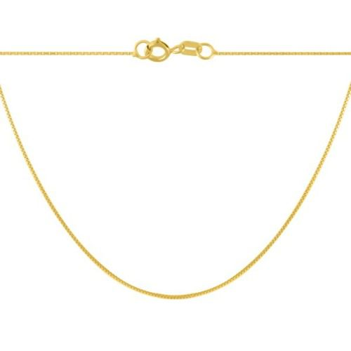 22046ae29cc Corrente De Ouro 18k Gargantilha Feminina 45cm - Viagold C45 - VIAGOLD JOIAS  ...