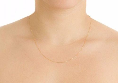 6ba3936fadf ... Corrente De Ouro 18k Gargantilha Feminina 45cm - Viagold C45 - VIAGOLD  JOIAS ...