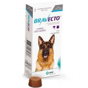 ANTIPULGAS E CARRAPATOS DE (20 A 40 kg) MSD BRAVECTO PARA CÃES -1000 mg