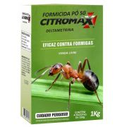 FORMICIDA PÓ 50 ROSA CITROMAX 1kg
