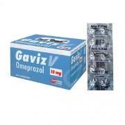 GAVIZ V OMEPRAZOL 20MG (CARTELA 10 COMPRIMIDOS)