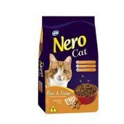 RAÇÃO NERO CAT ADULTOS PEIXE/FRANGO - 20KG