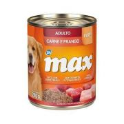 PATÊ MAX CÃES ADULTOS SABOR CARNE E FRANGO - 280g
