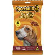 PETISCO PARA CÃES SNACKS SPECIAL DOG CARNE