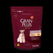 Ração Gran Plus Frango/Arroz Cães Sênior 3kg