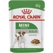 RAÇÃO ÚMIDA MINI ADULT - ROYAL CANIN 85G
