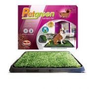 TAPETE HIGIÊNICO PET GREEN COM GRAMA ARTIFICIAL FURACAOPET