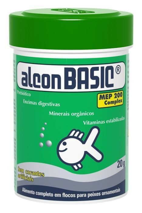 RAÇÃO PARA PEIXES - ALCON BASIC 020 GR ST