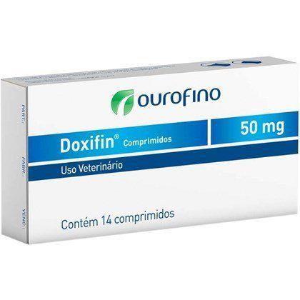 ANTIBIÓTICO DOXIFIN TABS CAIXA 14 COMPRIMIDOS 50 MG