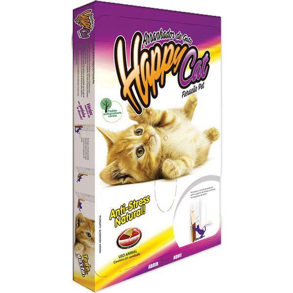 ARRANHADOR HAPPY CAT - FURACÃO PET - TAMANHO G