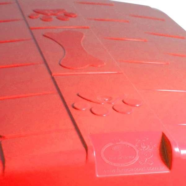 CASINHA PLAST. FURACAOPET N5,0 - VERMELHA
