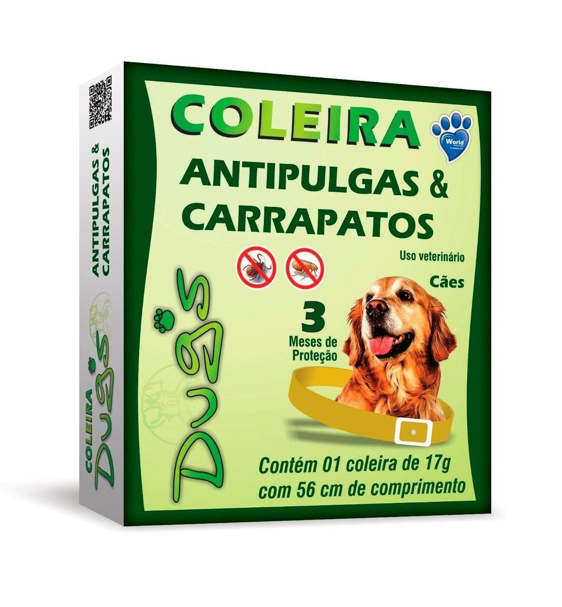 COLEIRA ANTI-PULGA E CARRAPATOS DUG'S