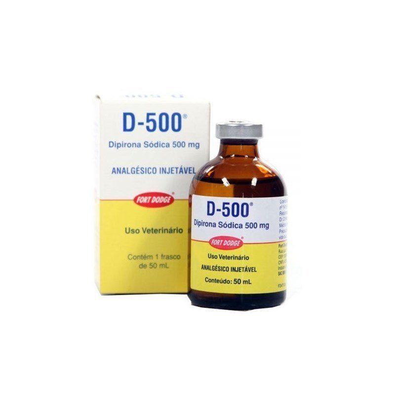 ANALGÉSICO D-500 50 ML