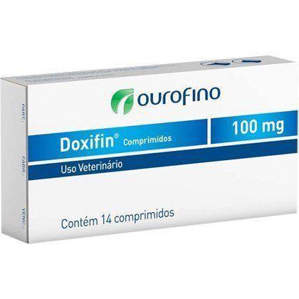 ANTIBIÓTICO DOXIFIN TABS CAIXA 14 COMPRIMIDOS 100MG