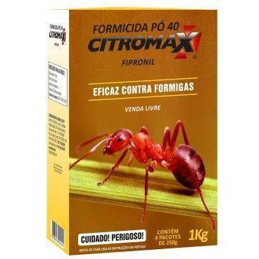 FORMICIDA PO 40 ROSA CITROMAX  1KG