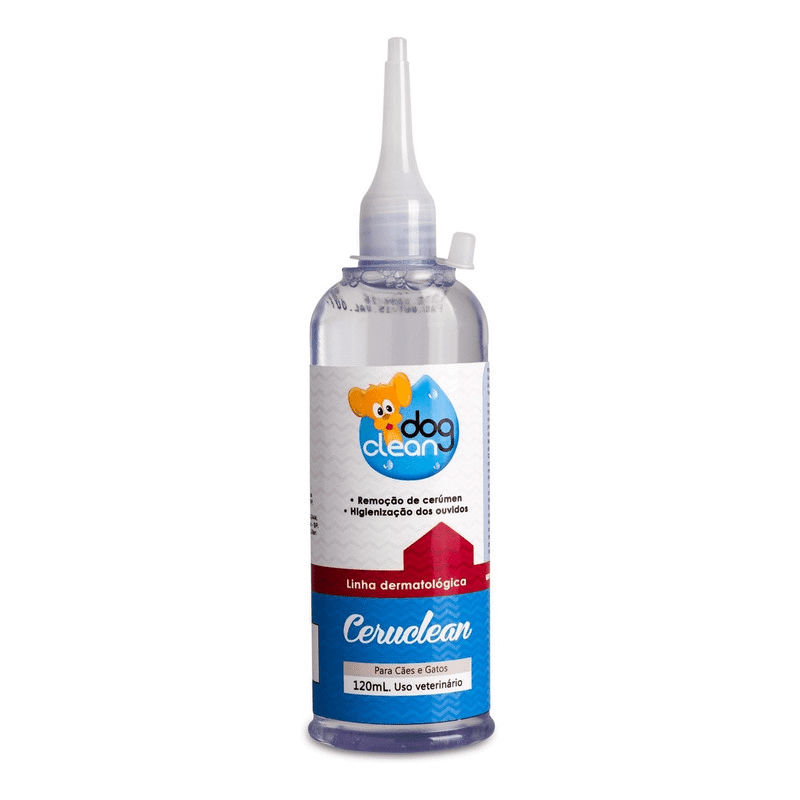 HIGIENIZADOR AURICULAR CERUCLEAN 120ML - DOG CLEAN