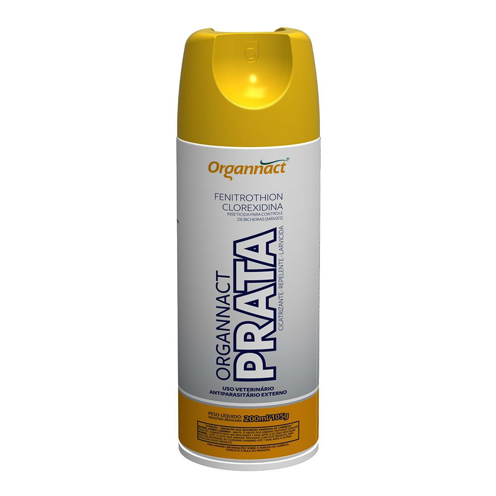 MATA BICHEIRA PRATA SPRAY 200 ML