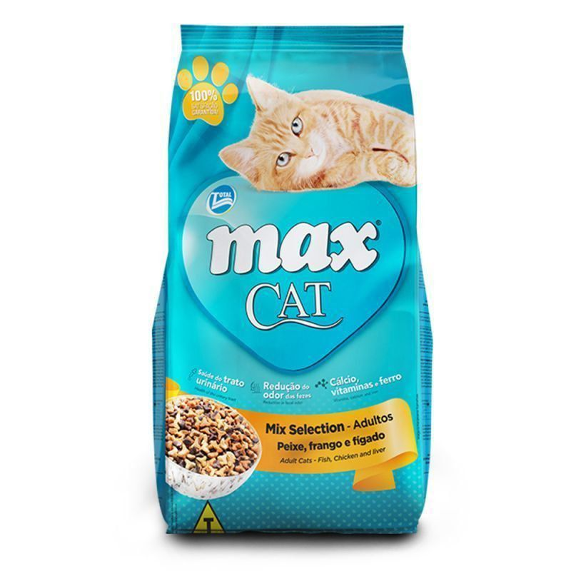 RAÇÃO MAX CAT MIX SELECTION - 20KG