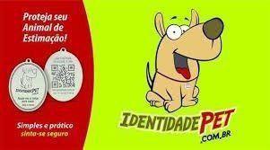 MEDALHA IDENTIDADE PET FURACÃO PET