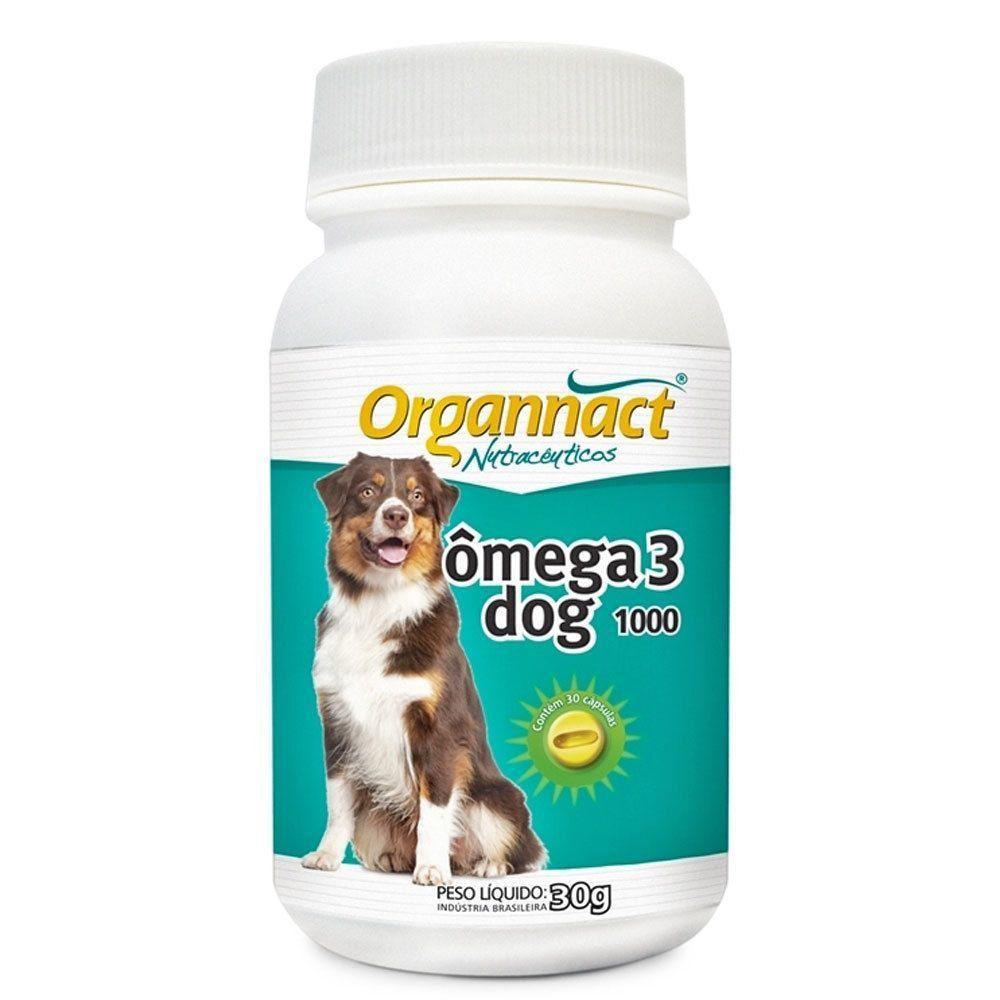 SUPLEMENTO VITAMÍNICO ORGANNACT OMEGA 3 DOG 1000MG
