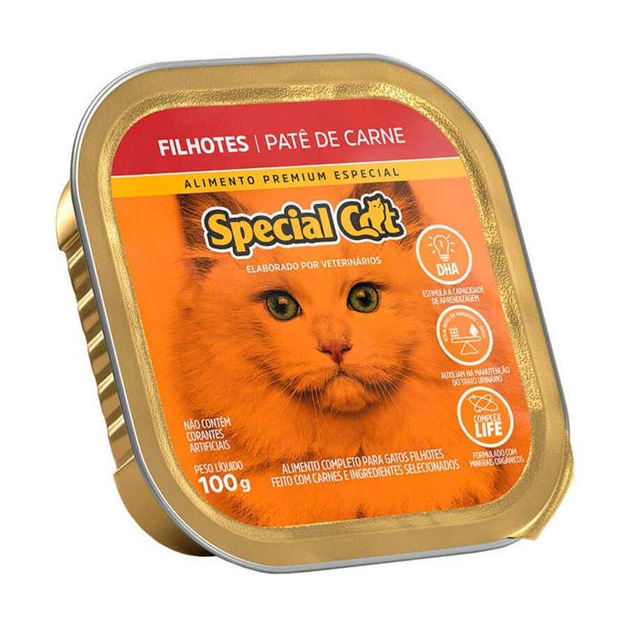 PATÊ SPECIAL CAT FILHOTE CARNE