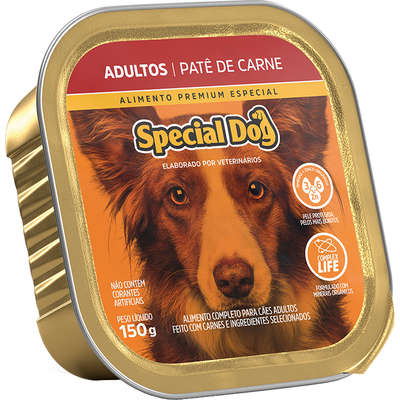 PATÊ SPECIAL DOG ADULTO CARNE