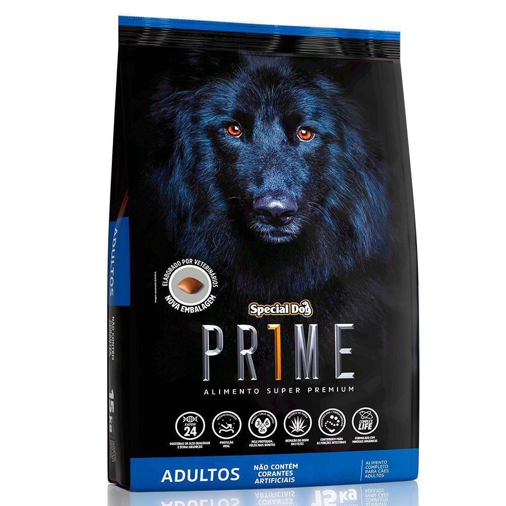 PLANO DE ASSINATURA RAÇÃO SPECIAL DOG PRIME ADULTO 20kg POR 6 MESES