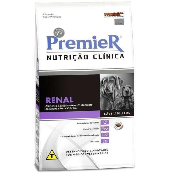 RAÇÃO PREMIER  NUTRIÇÃO CLINICA CAES RENAL 10 KG
