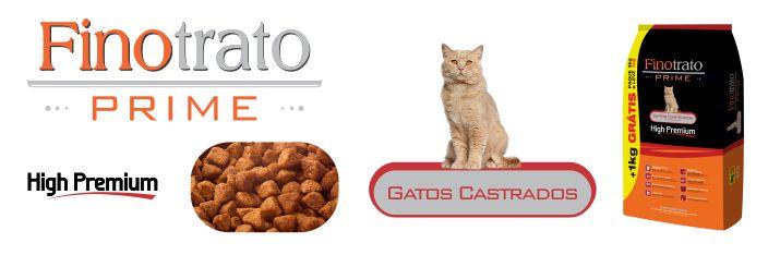 RAÇÃO FINOTRATO PRIME GATOS CASTRADOS  - 10,1KG