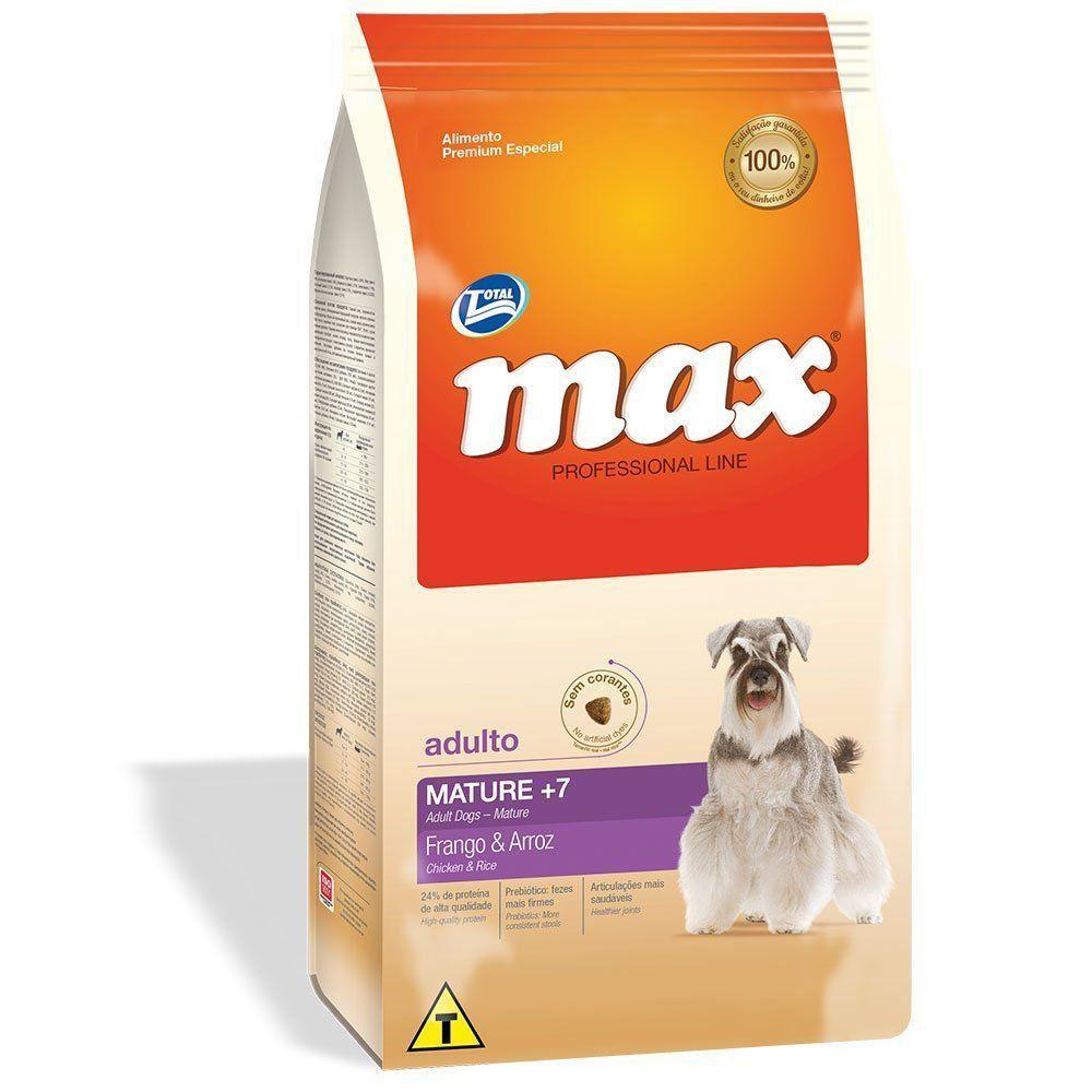 RAÇÃO MAX P LINE MATURE 7+ (15KG)