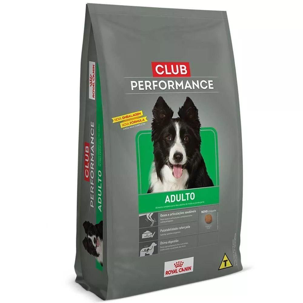 RAÇÃO ROYAL CANIN CLUB PERFORMANCE ADULT0 - 15,0 KG