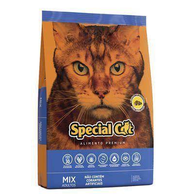 RAÇÃO SPECIAL CAT PREMIUM MIX PARA GATOS ADULTOS 3kg