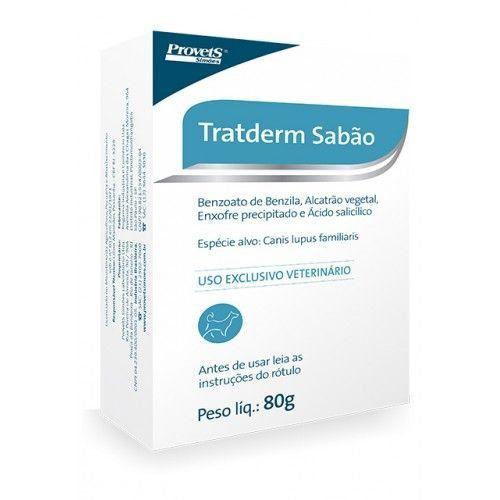 SABÃO ANTISSÉPTICO TRATDERM 80G