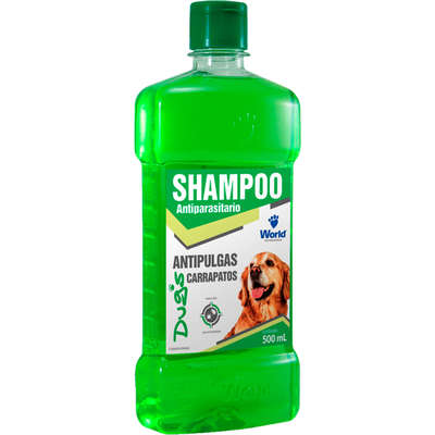SHAMPOO ANTIPULGAS E CARRAPATOS DUG'S - 500ML