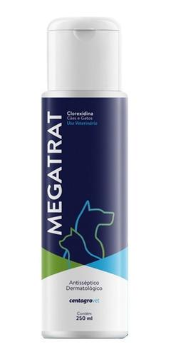 SHAMPOO ANTISSÉPTICO DERMATOLÓGICO MEGATRAT CLOREXIDINA 250 ML