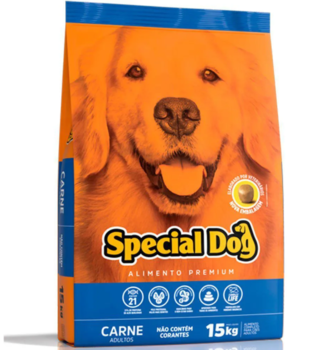 RAÇÃO SPECIAL DOG CARNE ADULTOS 15KG