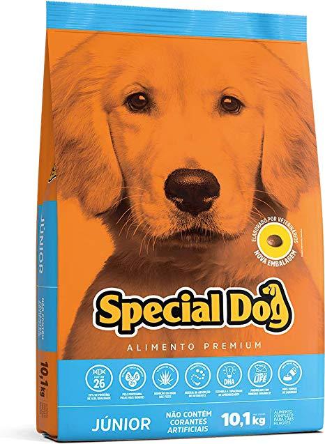 RAÇÃO SPECIAL DOG JUNIOR 10,1KG