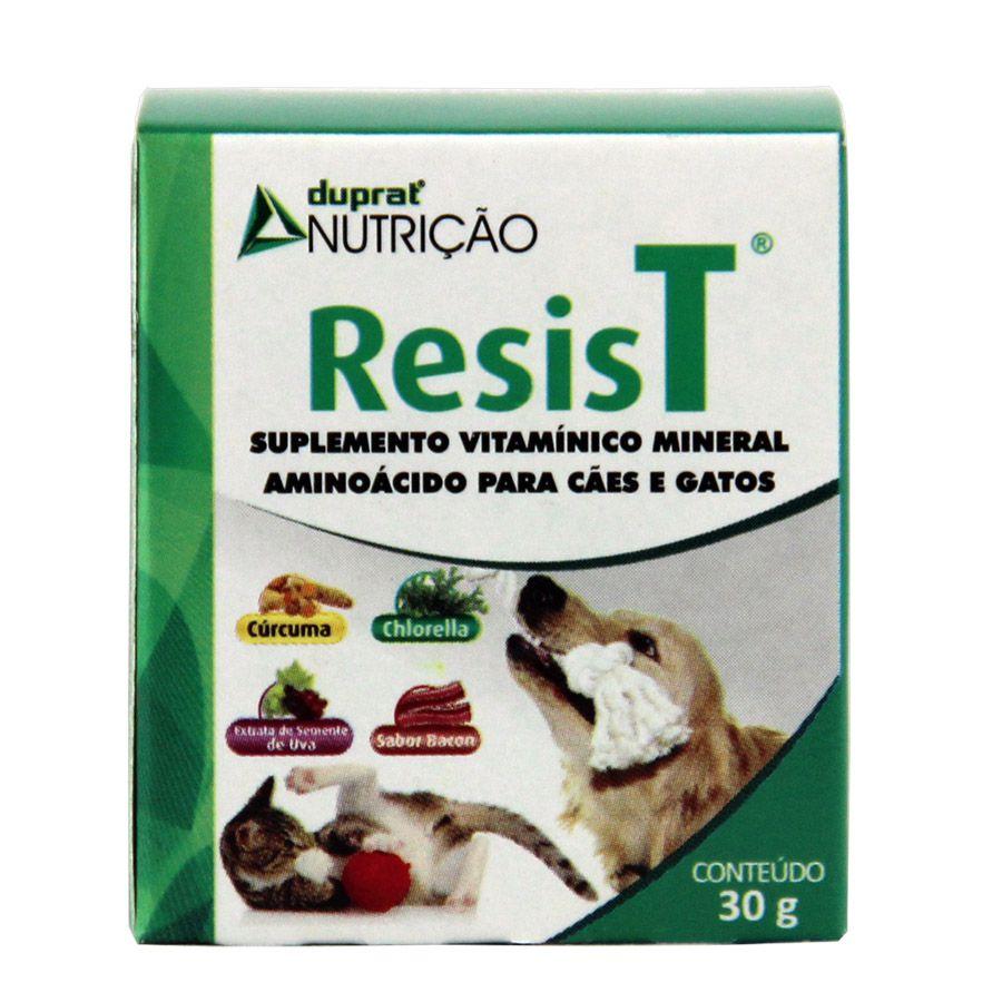 SUPLEMENTO VITAMÍNICO RESIST