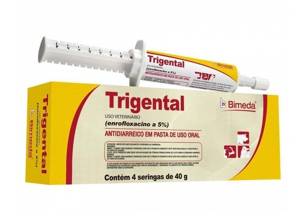 TRIGENTAL ENROFLOXACINO 5% - 40g