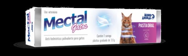 VERMÍFUGO MECTAL PASTA PALATÁVEL PARA GATOS 3,6g