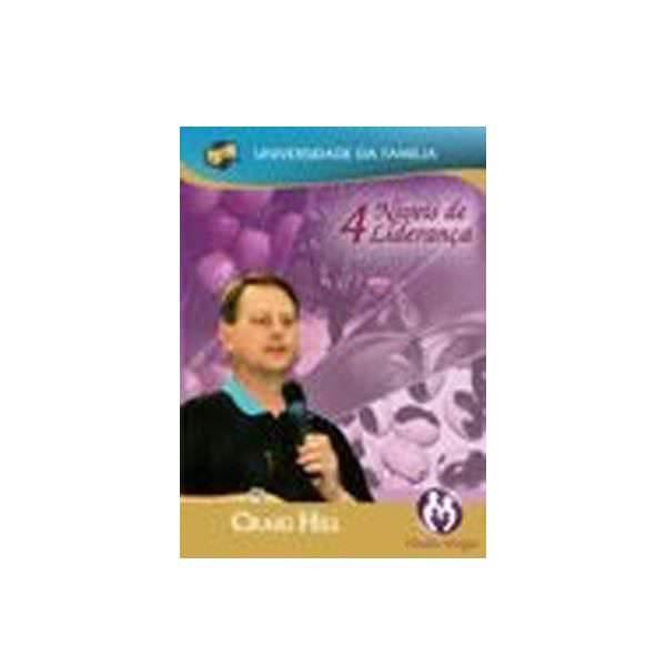 DVD 4 Níveis de Liderança<br><span>Por Craig Hill</span>  - Loja da Família