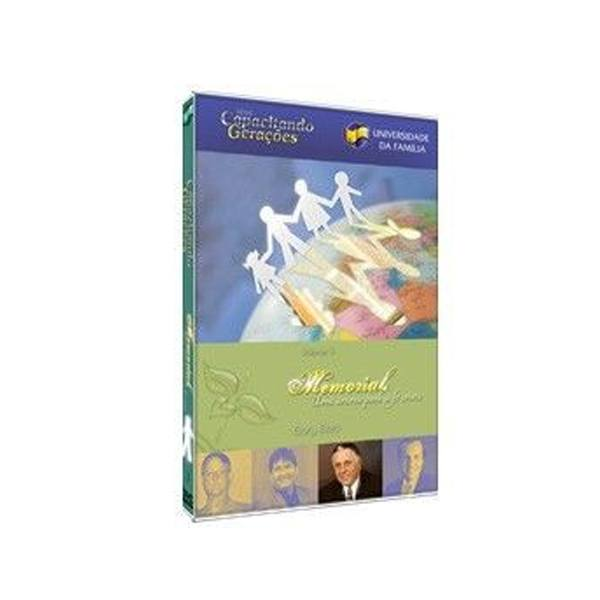 DVD  Memorial, uma Âncora para a Fé Cristã
