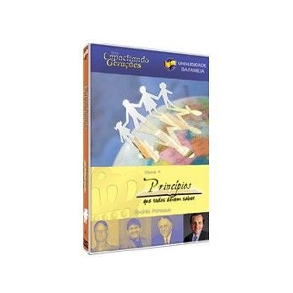 DVD Princípios que Todos Devem Saber  - Loja da Família