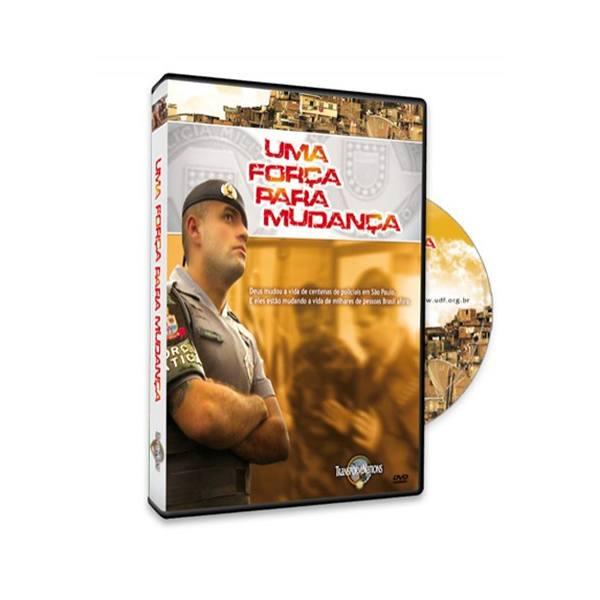 DVD Uma força para mudança  - Loja da Família