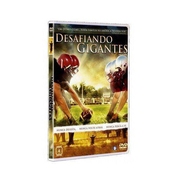 DVD Desafiando os Gigantes